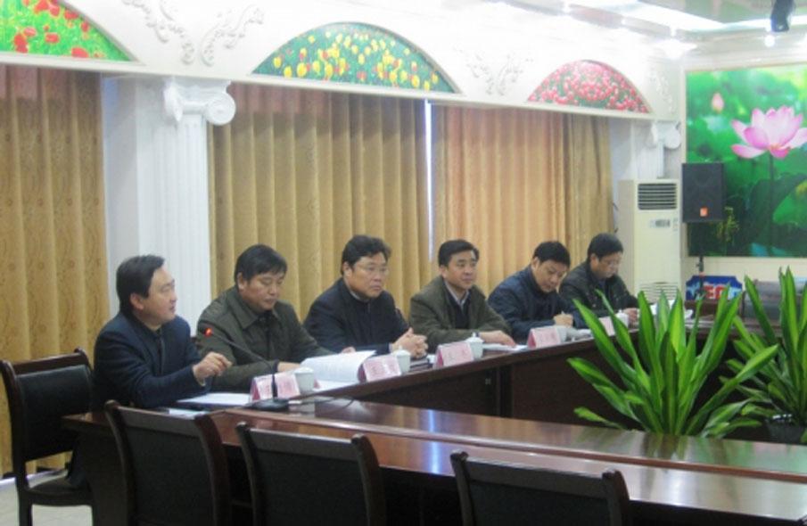 吴建国副市长在银山调研
